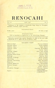 Page 3, 1927 Edition, Reidsville High School - Renocahi Yearbook (Reidsville, NC) online yearbook collection