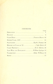 Page 5, 1927 Edition, Reidsville High School - Renocahi Yearbook (Reidsville, NC) online yearbook collection