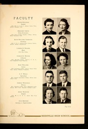 Page 13, 1941 Edition, Reidsville High School - Renocahi Yearbook (Reidsville, NC) online yearbook collection