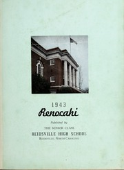 Page 5, 1943 Edition, Reidsville High School - Renocahi Yearbook (Reidsville, NC) online yearbook collection