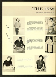 Page 6, 1958 Edition, Reidsville High School - Renocahi Yearbook (Reidsville, NC) online yearbook collection