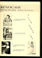 Page 7, 1958 Edition, Reidsville High School - Renocahi Yearbook (Reidsville, NC) online yearbook collection