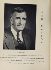 Page 8, 1956 Edition, A C Reynolds High School - Cedar Cliff Echoes Yearbook (Asheville, NC) online yearbook collection