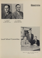 Page 9, 1956 Edition, A C Reynolds High School - Cedar Cliff Echoes Yearbook (Asheville, NC) online yearbook collection
