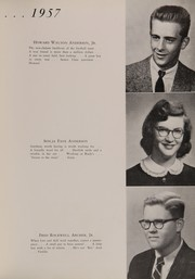 Page 17, 1957 Edition, Statesville High School - Trail Yearbook (Statesville, NC) online yearbook collection
