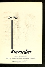 Page 7, 1945 Edition, Brevard High School - Brevardier Yearbook (Brevard, NC) online yearbook collection