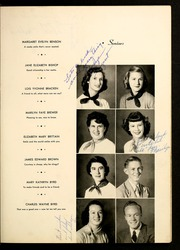 Page 13, 1951 Edition, Brevard High School - Brevardier Yearbook (Brevard, NC) online yearbook collection