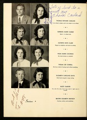 Page 14, 1951 Edition, Brevard High School - Brevardier Yearbook (Brevard, NC) online yearbook collection