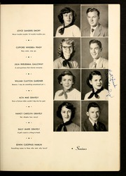 Page 15, 1951 Edition, Brevard High School - Brevardier Yearbook (Brevard, NC) online yearbook collection