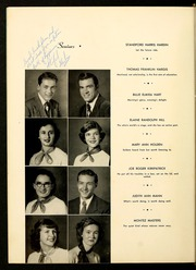 Page 16, 1951 Edition, Brevard High School - Brevardier Yearbook (Brevard, NC) online yearbook collection