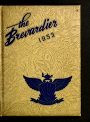 1953 Edition, Brevard High School - Brevardier Yearbook (Brevard, NC)