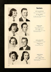 Page 16, 1954 Edition, Brevard High School - Brevardier Yearbook (Brevard, NC) online yearbook collection