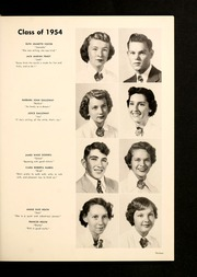 Page 17, 1954 Edition, Brevard High School - Brevardier Yearbook (Brevard, NC) online yearbook collection