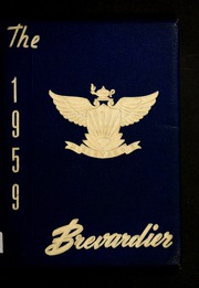 1959 Edition, Brevard High School - Brevardier Yearbook (Brevard, NC)