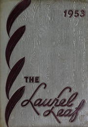 Franklin High School - Laurel Leaf Yearbook (Franklin, NC) online yearbook collection, 1953 Edition, Page 1