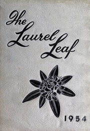 Franklin High School - Laurel Leaf Yearbook (Franklin, NC) online yearbook collection, 1954 Edition, Page 1