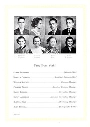 Page 10, 1934 Edition, Lincolnton High School - Pine Burr Yearbook (Lincolnton, NC) online yearbook collection