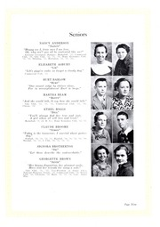 Page 13, 1934 Edition, Lincolnton High School - Pine Burr Yearbook (Lincolnton, NC) online yearbook collection