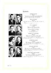 Page 14, 1934 Edition, Lincolnton High School - Pine Burr Yearbook (Lincolnton, NC) online yearbook collection