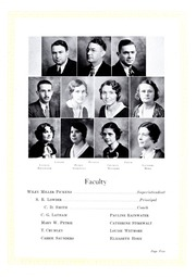 Page 9, 1934 Edition, Lincolnton High School - Pine Burr Yearbook (Lincolnton, NC) online yearbook collection