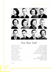Page 10, 1939 Edition, Lincolnton High School - Pine Burr Yearbook (Lincolnton, NC) online yearbook collection
