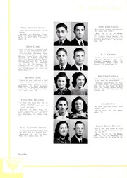 Page 14, 1939 Edition, Lincolnton High School - Pine Burr Yearbook (Lincolnton, NC) online yearbook collection