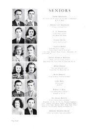 Page 12, 1943 Edition, Lincolnton High School - Pine Burr Yearbook (Lincolnton, NC) online yearbook collection