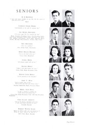 Page 15, 1943 Edition, Lincolnton High School - Pine Burr Yearbook (Lincolnton, NC) online yearbook collection