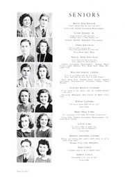 Page 16, 1943 Edition, Lincolnton High School - Pine Burr Yearbook (Lincolnton, NC) online yearbook collection
