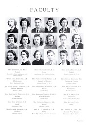 Page 9, 1943 Edition, Lincolnton High School - Pine Burr Yearbook (Lincolnton, NC) online yearbook collection