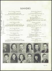 Page 13, 1948 Edition, Lincolnton High School - Pine Burr Yearbook (Lincolnton, NC) online yearbook collection