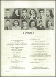 Page 14, 1948 Edition, Lincolnton High School - Pine Burr Yearbook (Lincolnton, NC) online yearbook collection