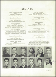 Page 15, 1948 Edition, Lincolnton High School - Pine Burr Yearbook (Lincolnton, NC) online yearbook collection