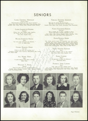 Page 17, 1948 Edition, Lincolnton High School - Pine Burr Yearbook (Lincolnton, NC) online yearbook collection