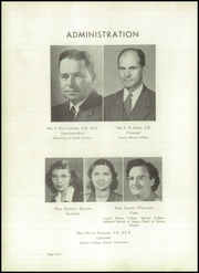 Page 8, 1948 Edition, Lincolnton High School - Pine Burr Yearbook (Lincolnton, NC) online yearbook collection