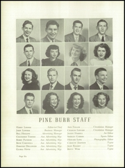 Page 10, 1949 Edition, Lincolnton High School - Pine Burr Yearbook (Lincolnton, NC) online yearbook collection