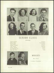 Page 12, 1949 Edition, Lincolnton High School - Pine Burr Yearbook (Lincolnton, NC) online yearbook collection