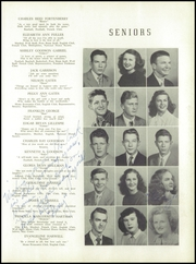 Page 15, 1949 Edition, Lincolnton High School - Pine Burr Yearbook (Lincolnton, NC) online yearbook collection