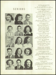 Page 16, 1949 Edition, Lincolnton High School - Pine Burr Yearbook (Lincolnton, NC) online yearbook collection