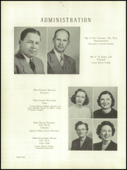 Page 8, 1949 Edition, Lincolnton High School - Pine Burr Yearbook (Lincolnton, NC) online yearbook collection