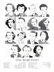 Page 12, 1951 Edition, Lincolnton High School - Pine Burr Yearbook (Lincolnton, NC) online yearbook collection