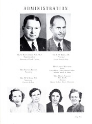 Page 9, 1951 Edition, Lincolnton High School - Pine Burr Yearbook (Lincolnton, NC) online yearbook collection
