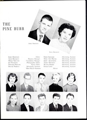 Page 13, 1953 Edition, Lincolnton High School - Pine Burr Yearbook (Lincolnton, NC) online yearbook collection