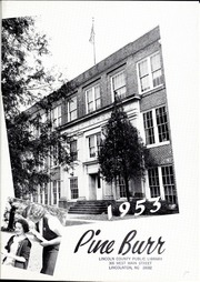 Page 5, 1953 Edition, Lincolnton High School - Pine Burr Yearbook (Lincolnton, NC) online yearbook collection