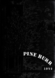 Page 1, 1955 Edition, Lincolnton High School - Pine Burr Yearbook (Lincolnton, NC) online yearbook collection