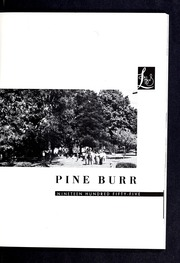 Page 5, 1955 Edition, Lincolnton High School - Pine Burr Yearbook (Lincolnton, NC) online yearbook collection