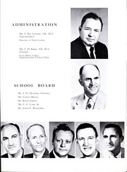 Page 11, 1957 Edition, Lincolnton High School - Pine Burr Yearbook (Lincolnton, NC) online yearbook collection