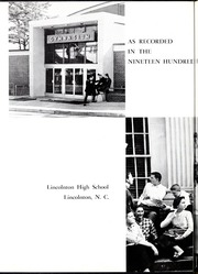 Page 6, 1957 Edition, Lincolnton High School - Pine Burr Yearbook (Lincolnton, NC) online yearbook collection