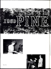 Page 8, 1959 Edition, Lincolnton High School - Pine Burr Yearbook (Lincolnton, NC) online yearbook collection