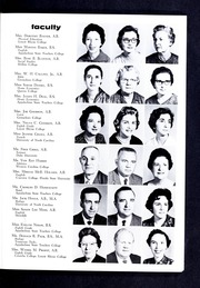 Page 13, 1961 Edition, Lincolnton High School - Pine Burr Yearbook (Lincolnton, NC) online yearbook collection